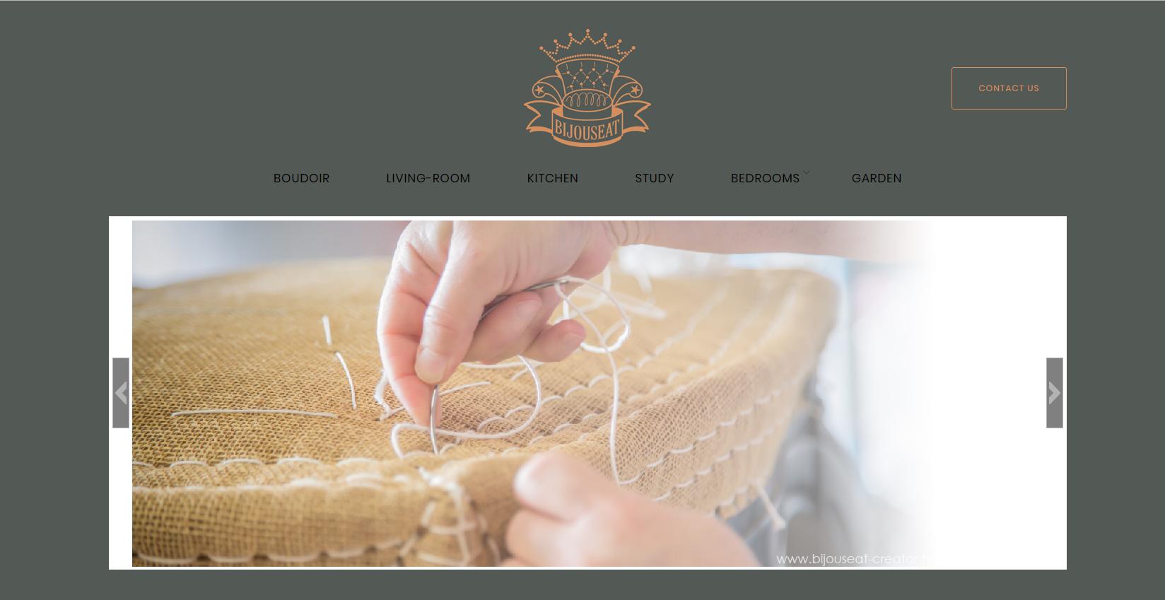 bijouseat-creator-home-furniture.com Web et Informatique en luberon - Site internet et referenecment - cedric de miscault - apt à cavaillon