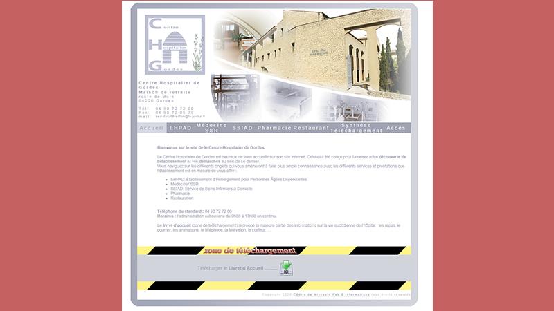 centre hospitalier gordes Web et Informatique en luberon - Site internet et referencement - cedric de miscault - apt à cavaillon par web-et-informatique.com