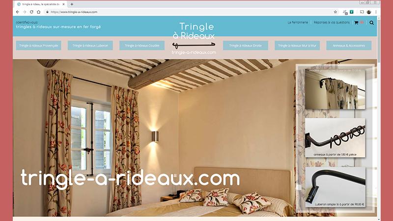 tringles à rideaux sur mesure Web et Informatique en luberon - Site internet et referencement - cedric de miscault - apt à cavaillon par web-et-informatique.com